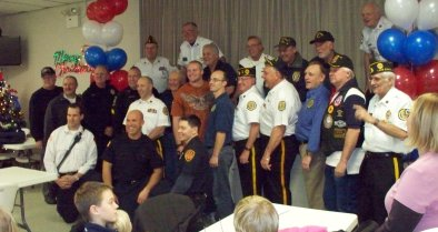 Legion Members-LZ Police & Fire Dept Members all who were involved in arranging this Hometown Welcome